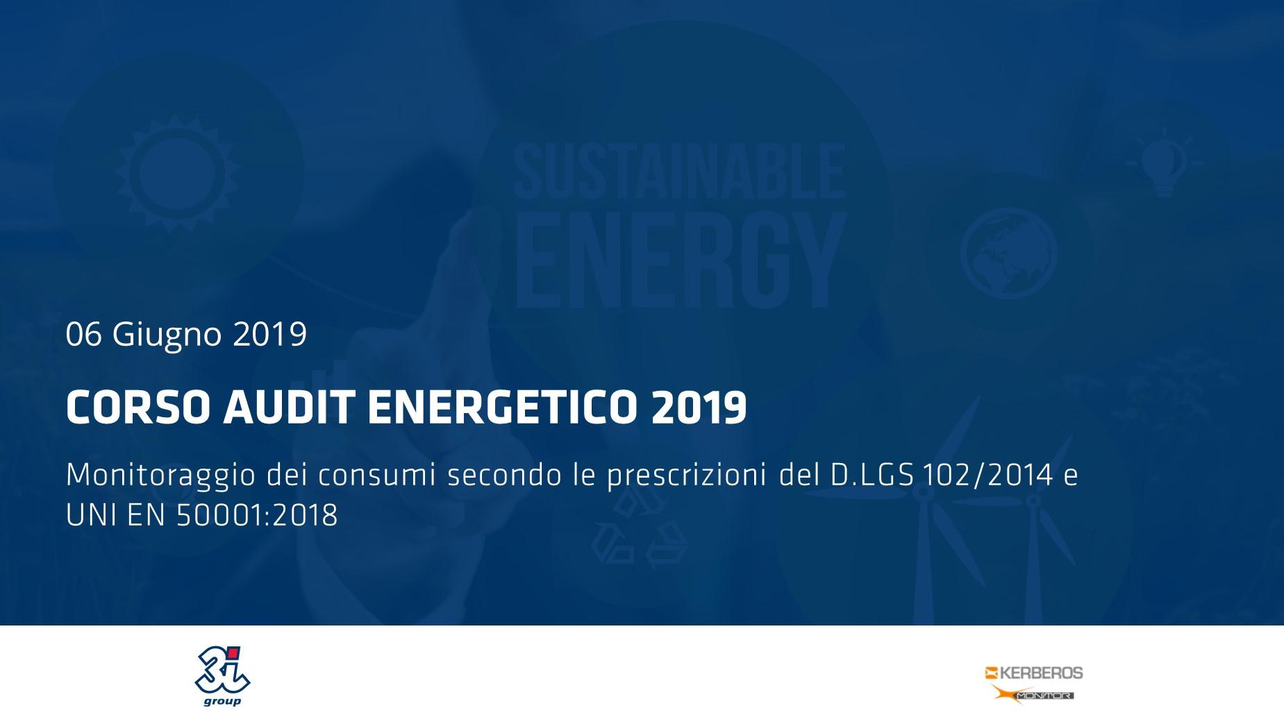 ISO 50001:2018 – Sistemi di gestione per l'Energia