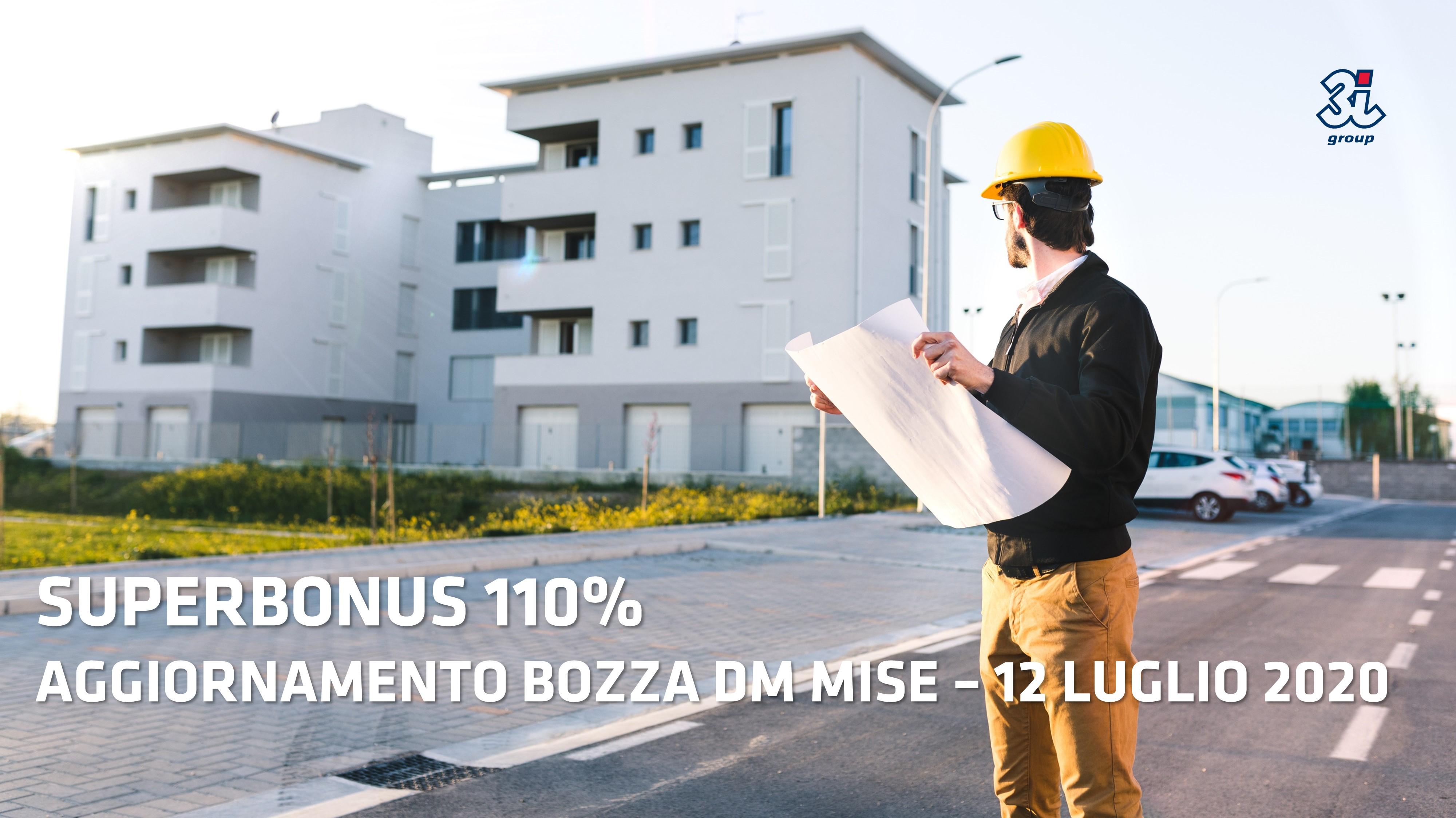 Superbonus 110% – Aggiornamento 12 luglio